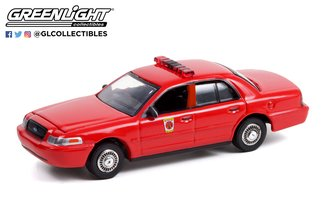 """1:64 2001 Ford Crown Victoria Interceptor """"Baltimore City, Maryland Fire Department"""""""