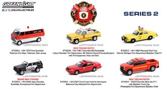 1:64 Fire & Rescue Series 2 (Set of 6)
