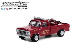 "1:64 Fire & Rescue Series 3 - 1978 Ford F-250 Brush Truck ""Fallston, NC Volunteer Fire Dept."""