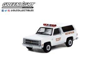 "1:64 Fire & Rescue Series 3 - 1989 Chevrolet K5 Blazer ""New Haven, CT Fire Department"""