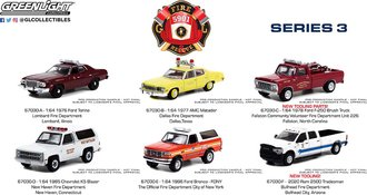 1:64 Fire & Rescue Series 3 (Set of 6)