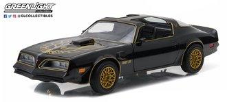 1:24 1977 Pontiac Firebird Trans Am (Starlite Black w/Golden Eagle Hood)