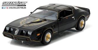 1:24 1980 Pontiac Firebird Trans Am Turbo 4.9L (Starlight Black w/Golden Eagle Hood)