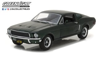 1:24 1968 Ford Mustang GT Fastback (Highland Green)