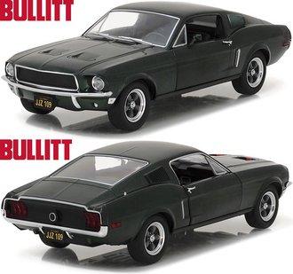1:24 Bullitt (1968) - 1968 Ford Mustang GT Fastback