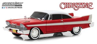 1:24 Christine (1983) - 1958 Plymouth (Evil Version with Blacked Out Windows)
