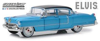 "1:24 Elvis Presley (1935-77) - 1955 Cadillac Fleetwood Series 60 ""Blue Cadillac"""