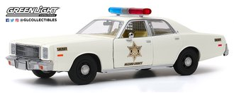 "1:24 1977 Plymouth Fury ""Hazzard County Sheriff"""