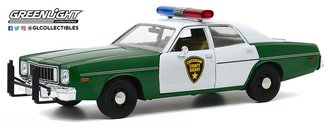 "1:24 1975 Plymouth Fury ""Chickasaw County Sheriff"""