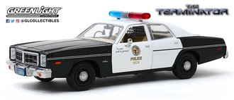 "1:24 Hollywood Series 10 ""The Terminator (1984)"" 1977 Dodge Monaco Metropolitan Police"