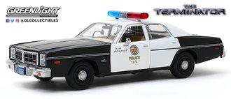"1:24 Hollywood Series 10 ""The Terminator (1984)"" 1977 Dodge Monaco Metropolitan Police"
