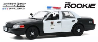 """1:24 The Rookie (2018-Current TV Series) - 2008 Ford CV PI """"Los Angeles Police Department (LAPD)"""""""