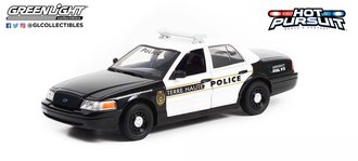 """1:24 Live PD (2016-Current TV Series) Series 1 - 2011 Crown Victoria PI""""Terre Haute, Indiana Police"""""""