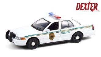 "1:24 Dexter (2006-13 TV Series) 2001 Ford Crown Victoria Police Interceptor ""Miami Metro PD"""