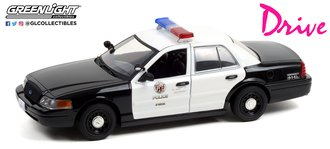 """1:24 Drive (2011) - 2001 Ford Crown Victoria Police Interceptor """"LAPD"""""""