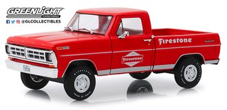 "1:24 Running on Empty - 1971 Ford F-100 ""Firestone Tire Service"""