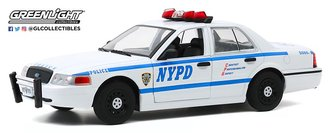 "1:24 Hot Pursuit - 2011 Ford Crown Victoria Police ""New York City Police Dept (NYPD)"""