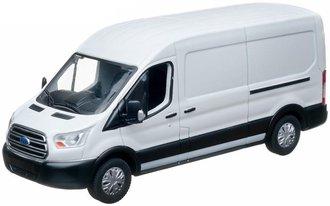 1:43 2015 Ford Transit Jumbo Delivery Van (White)
