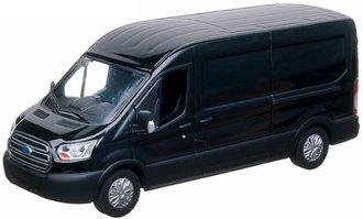 1:43 2015 Ford Transit Jumbo Delivery Van (Black)