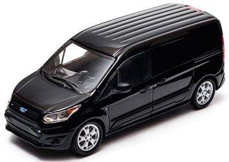1:43 2015 Ford Transit Connect V408 Van (Black)