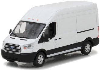 1:43 2017 Ford Transit Extended Van High Roof (Oxford White)