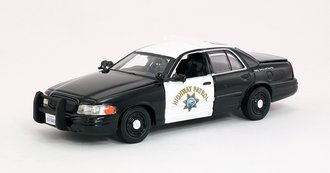 "1:43 2008 Ford Crown Victoria ""California Highway Patrol"""