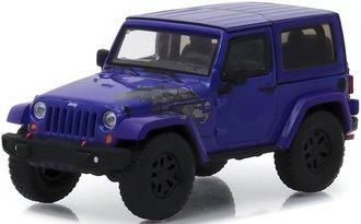 1:43 2017 Jeep Wrangler Winter Edition (Xtreme Purple)