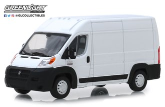 1:43 2018 RAM ProMaster 2500 Cargo High Roof (Bright White)