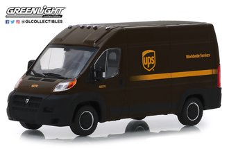 "1:43 2018 RAM ProMaster 2500 Cargo High Roof ""United Parcel Service - UPS Worldwide Services"""