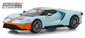 """1:43 2019 Ford GT - Ford GT Heritage Edition """"#9 Gulf Racing Gulf Oil"""""""