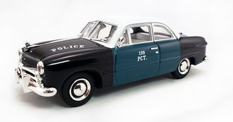"1:43 1949 Ford ""New York City Police Dept (NYPD)"""