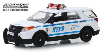 "1:43 2013 Ford Police Interceptor Utility ""New York City Police Dept (NYPD)"""