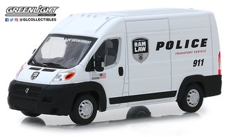 "1:43 2018 RAM ProMaster 2500 Cargo High Roof ""Ram Law Enforcement Police Transport Vehicle"""