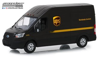 "1:43 2018 Ford Transit LWB High Roof ""United Parcel Service (UPS) Worldwide Services"""