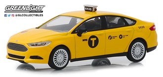 "1:43 2013 Ford Fusion ""NYC Taxi"""