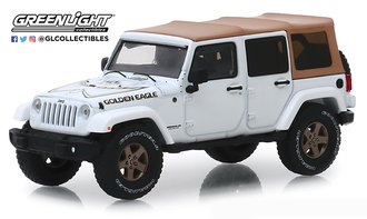 "1:43 2018 Jeep Wrangler Unlimited ""Golden Eagle"" (White)"