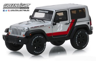 "1:43 2014 Jeep Wrangler Rubicon ""Bridgestone Racing"" (Silver)"