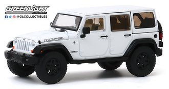 1:43 2013 Jeep Wrangler Unlimited Moab (Bright White)