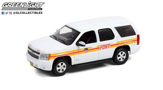 "1:43 2011 Chevrolet Tahoe ""FDNY - Fire Family Transport"""