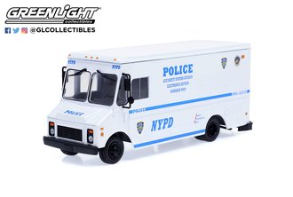 """1:43 1993 Grumman Olson Van """"New York City Police Dept. (NYPD) Life Safety Systems Division"""""""