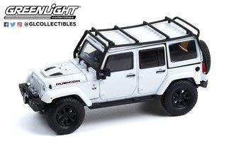 1:43 2014 Jeep Wrangler Unlimited Rubicon X w/Off-Road Parts - The Rubicon Trail - Bright White