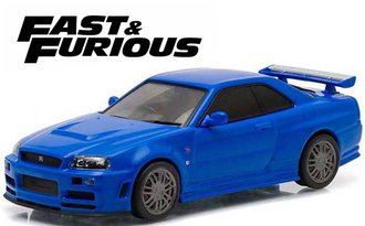 1:43 Fast & Furious - Fast and Furious (2009) - 2002 Nissan Skyline GT-R