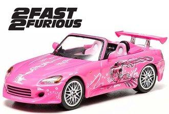 1:43 2 Fast 2 Furious (2003) - 2001 Honda S2000 (Pink)