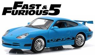 1:43 Fast & Furious - Fast Five (2011) - 2001 Porsche 911 Carrera GT3 RS (Blue)