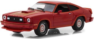 1:43 1978 Ford Mustang II King Cobra (Red w/Orange Trim)