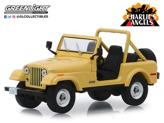 1:43 Charlie's Angels (1976-1981 TV Series) - Jeep CJ-5