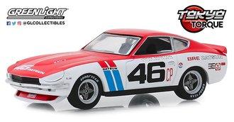 1:43 Tokyo Torque - 1970 Datsun 240Z - #46 Brock Racing Enterprises (BRE) - John Morton