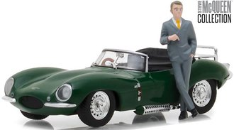 1:43 Steve McQueen Collection (1930-80) - 1956 Jaguar XKSS w/Steve McQueen Figure