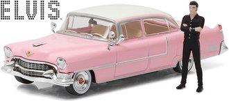 "1:43 Elvis Presley 1955 Cadillac Fleetwood Series 60 ""Pink Cadillac"" w/Elvis Figure"