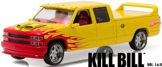 "1:43 Hollywood - Kill Bill: Vol. 1 (2003) - 1997 Chevrolet C-2500 Crew Cab Silverado ""P. Wagon"""